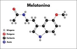Struttura Chimica della Melatonina