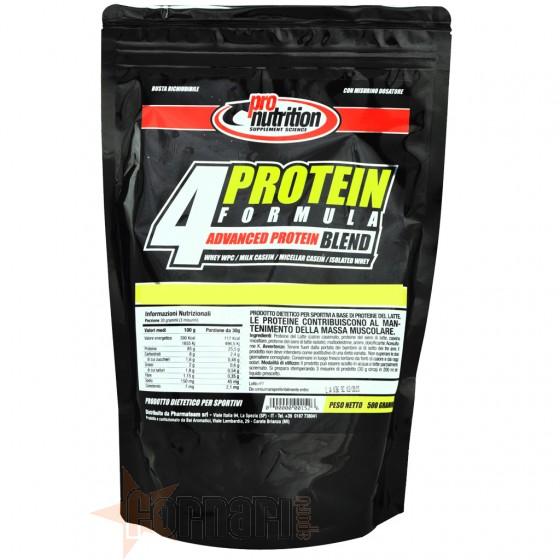Pro Nutrition 4Protein Formula Proteine a Lento Rilascio