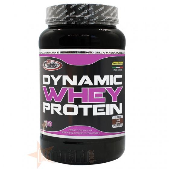 Pro Nutrition Dynamic Whey Protein Proteine del Siero di Latte