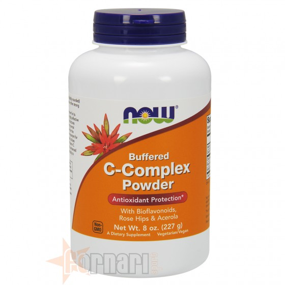 Now Foods C-Complex Powder Vitamine Minerali e Antiossidanti