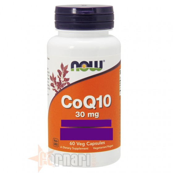 Now Foods CoQ10 Vitamine Minerali Antiossidanti