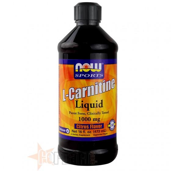 NOW FOODS L-CARNITINE LIQUID 473 ML