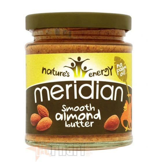 MERIDIAN SMOOTH ALMOND BUTTER 170 GR