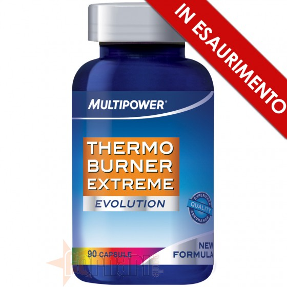 Multipower Thermo Burner Extreme Termogenico con Caffeina