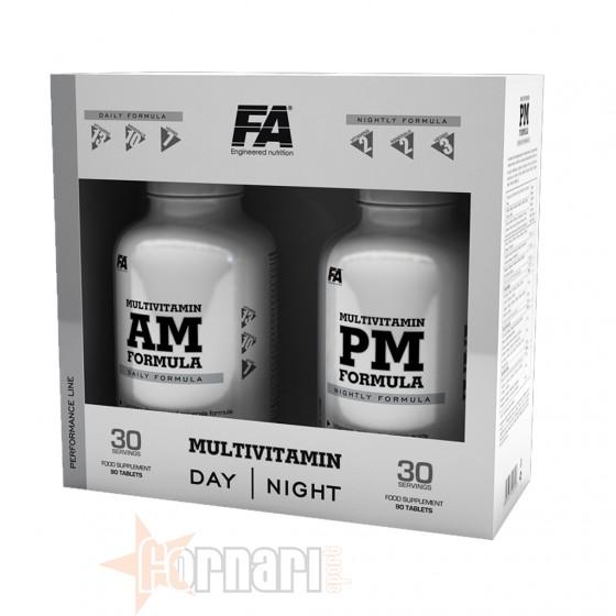 FITNESS AUTHORITY MULTIVITAMIN AM & PM 2 X 90 TAV