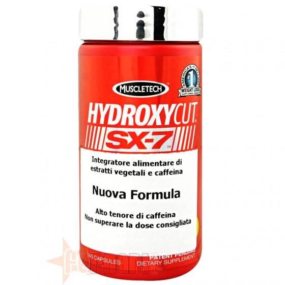Muscletech Hydroxycut SX-7 Termogenico con Caffeina