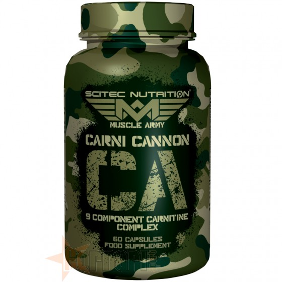 MUSCLE ARMY CARNI CANNON 60 CPS