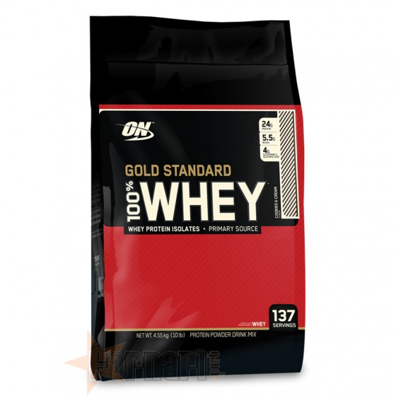 100% WHEY GOLD 4,54 KG