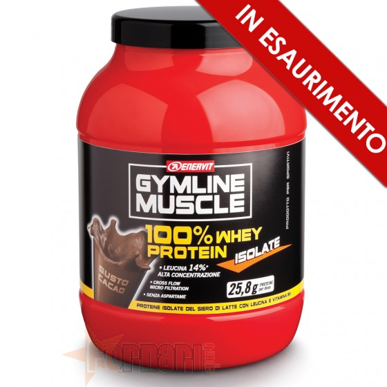 Enervit Gymline 100% Whey Protein Isolate Proteine Isolate
