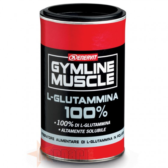 Enervit Gymline L-Glutammina 100% Aminoacidi e Glutamina