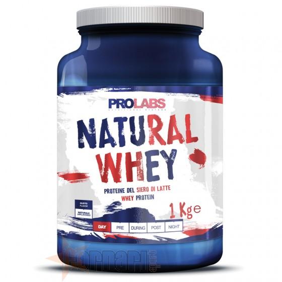 Prolabs Natural Whey Proteine del Siero di Latte