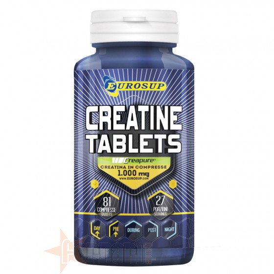 EUROSUP CREATINE TABLETS 81 CPR