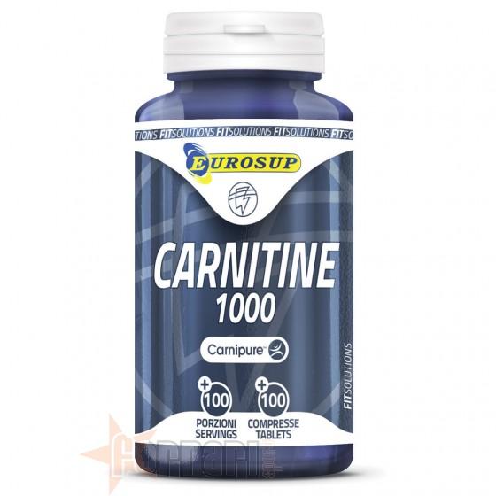 Eurosup Carnitine 1000 Termogenici Senza Caffeina