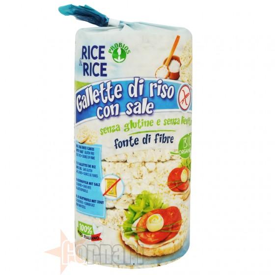 RICE&RICE GALLETTE DI RISO CON SALE 100 GR