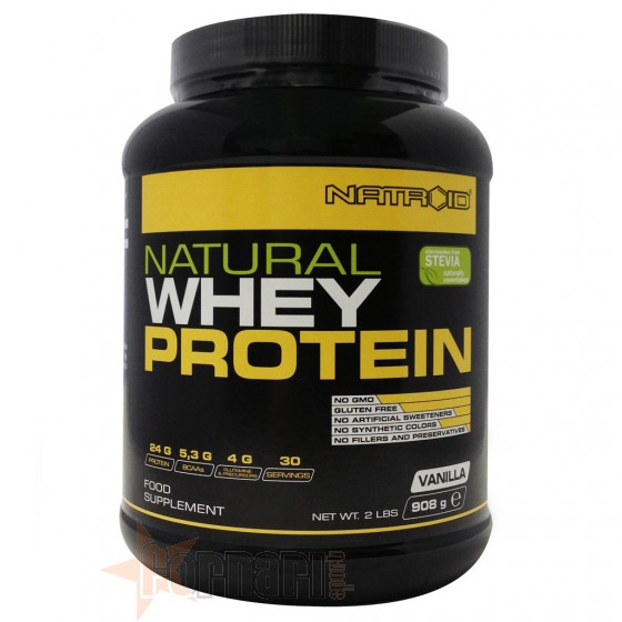 NATROID NATURAL WHEY PROTEIN 908 GR