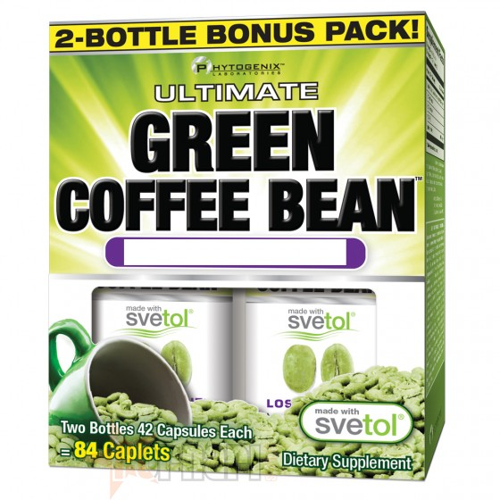 AMIX GREEN COFFEE BEAN 2 X 42 CPS