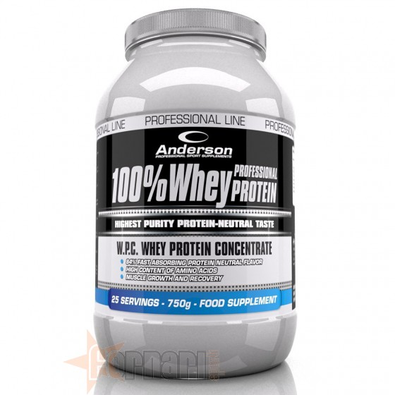ANDERSON 100% WHEY PROTEIN 750 GR