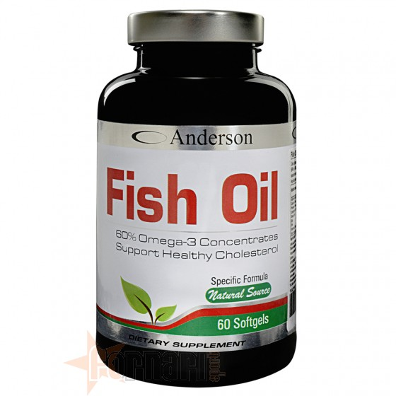 Anderson Fish Oil Acidi Grassi e Omega-3