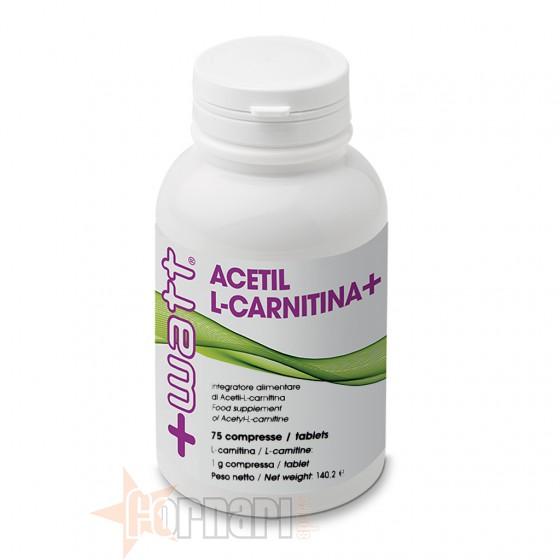 +Watt Acetil L-Carnitina 75 cpr
