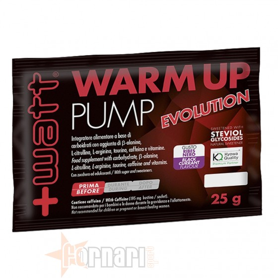 +Watt Warm Up Pump Evolution 25 gr