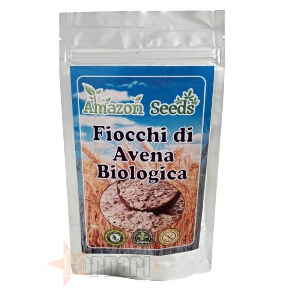 Amazon Seeds Fiocchi di Avena Biologica 1 Kg