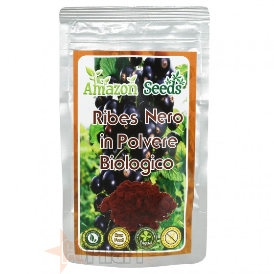Amazon Seeds Ribes Nero Biologico 100 gr