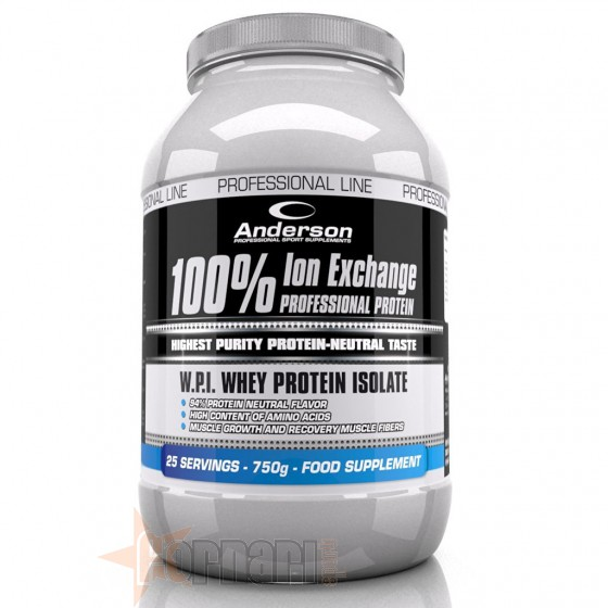 Anderson 100% Ion Exchange Protein 750 gr