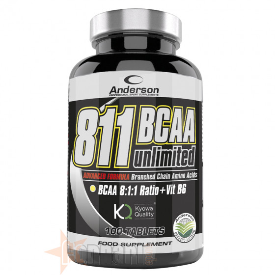 Anderson 811 Bcaa Unlimited 100 cpr