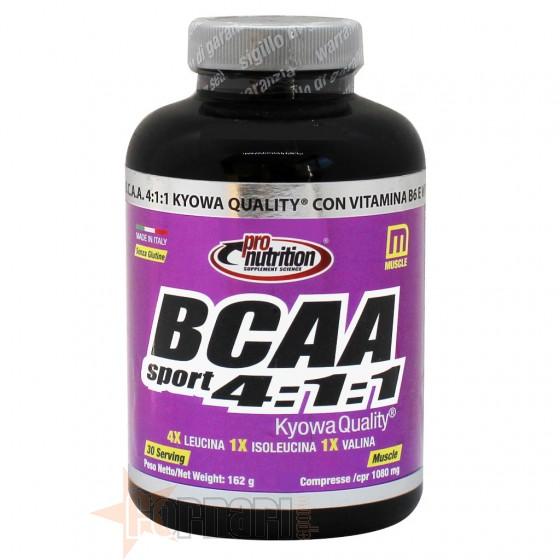 Pro Nutrition Bcaa Sport 4:1:1 Aminoacidi Ramificati