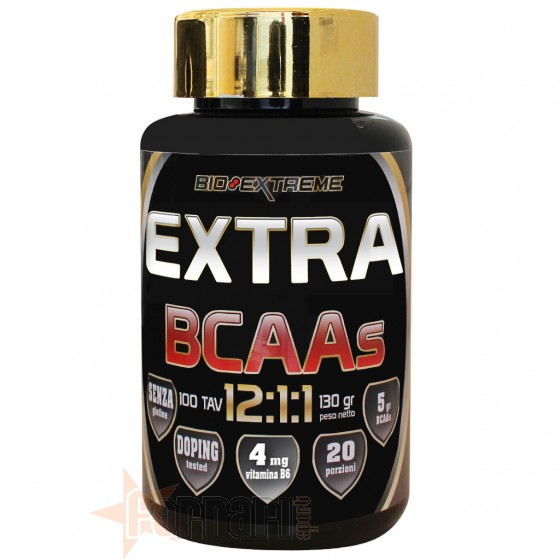 Bio Extreme Extra Bcaas 12:1:1 100 Tav