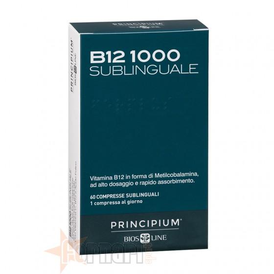 Bios Line Principium B12 1000 Sublinguale 60 cpr