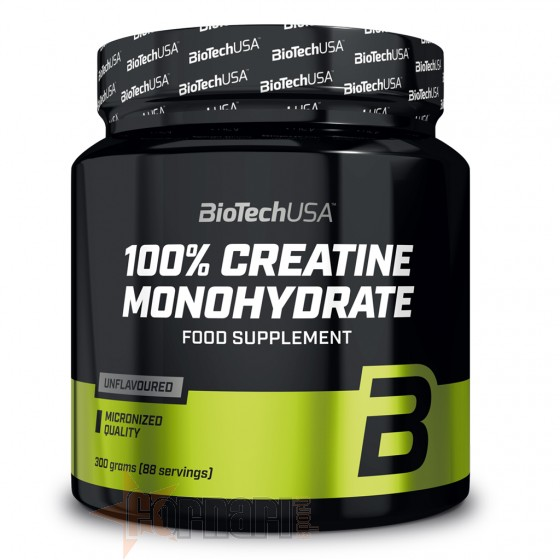 Biotech Usa 100% Creatine Monohydrate 300 gr