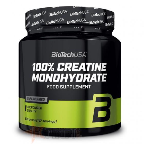 Biotech Usa 100% Creatine Monohydrate 500 gr