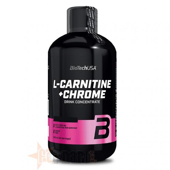 Biotech Usa L-Carnitine+Chrome Liquid 500 ml