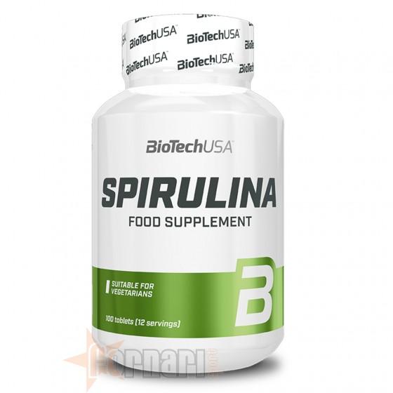 Biotech Usa Spirulina 100 cpr