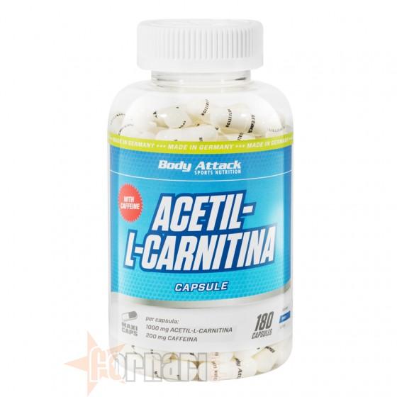 Body Attack Acetil L-Carnitina 180 cps