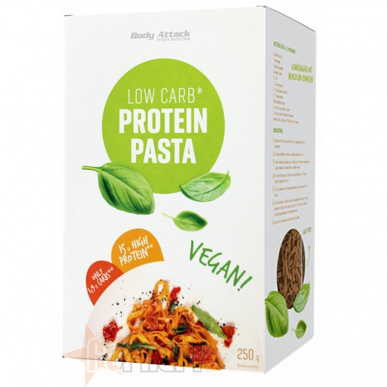 Body Attack Low Carb Protein Pasta Vegan 250 gr