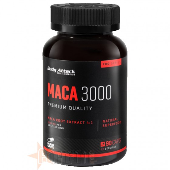 Body Attack Maca 3000 90 cps