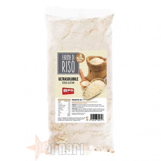 Bpr Nutrition Farina di Riso Senza Glutine 1 Kg