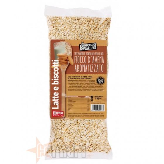 Bpr Nutrition Fiocco d'Avena Aromatizzato Senza Glutine 1 Kg