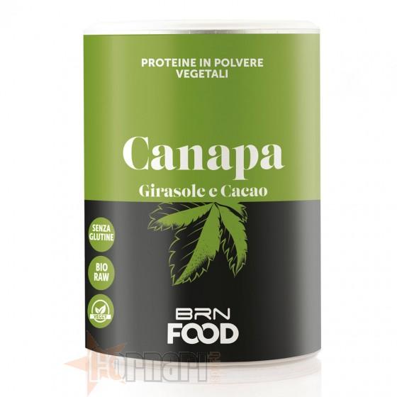 Brn Food Proteine Vegetali di Canapa 400 gr