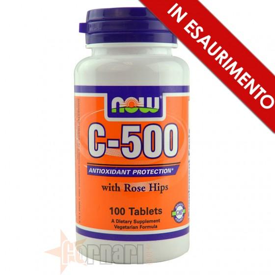 Now Foods C-500 Vitamine Minerali e Antiossidanti