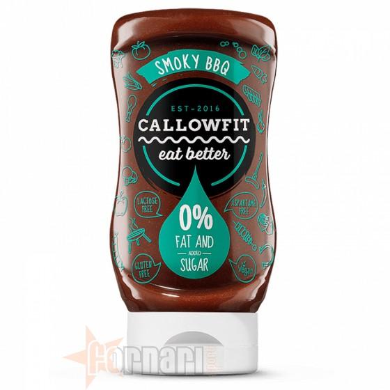 Callowfit Smoky Bbq Sauce 300 ml