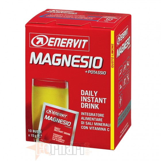 Enervit Magnesio + Potassio 10 Buste da 15 gr