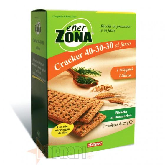 Enerzona Cracker 40-30-30 7 Minipack da 25 gr