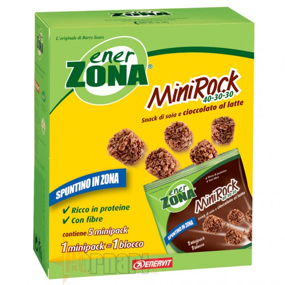 Enerzona Mini Rock 40-30-30 5 Buste da 24 gr