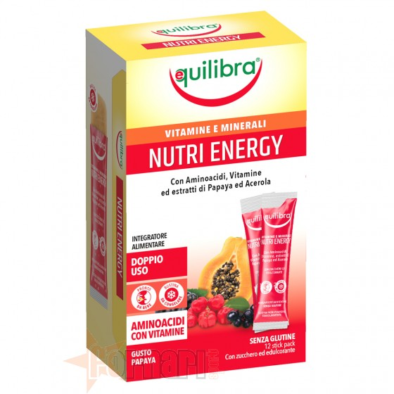 Equilibra Nutri Energy 12 Stick