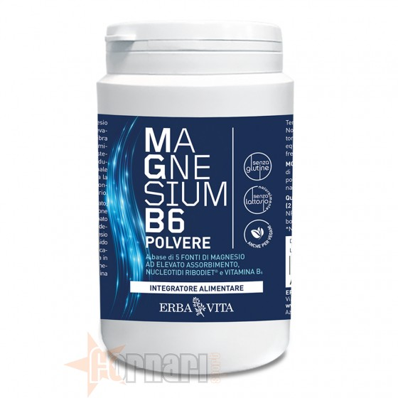 Erba Vita Magnesium B6 Polvere 200 gr