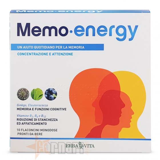 Erba Vita Memo Energy 10 flaconcini