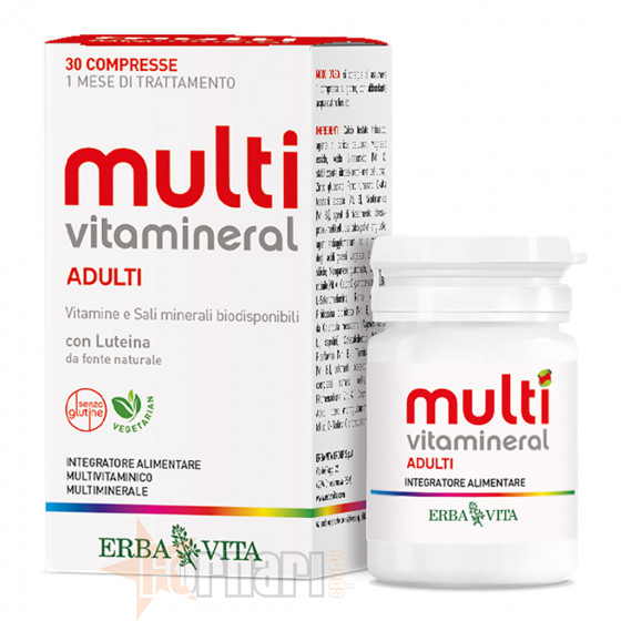 Erba Vita Multivitamineral Adulti 30 cpr